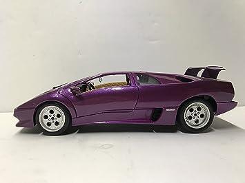 Bburago Lamborghini Red Diablo Car 1990 1 18 Scale Made In Italy Die