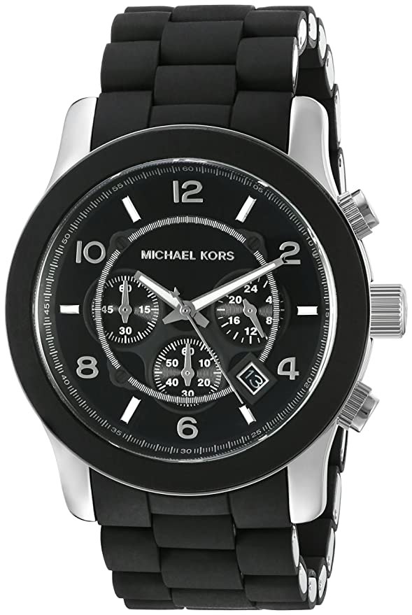 Michael Kors Men's Runway Black Watch MK8107