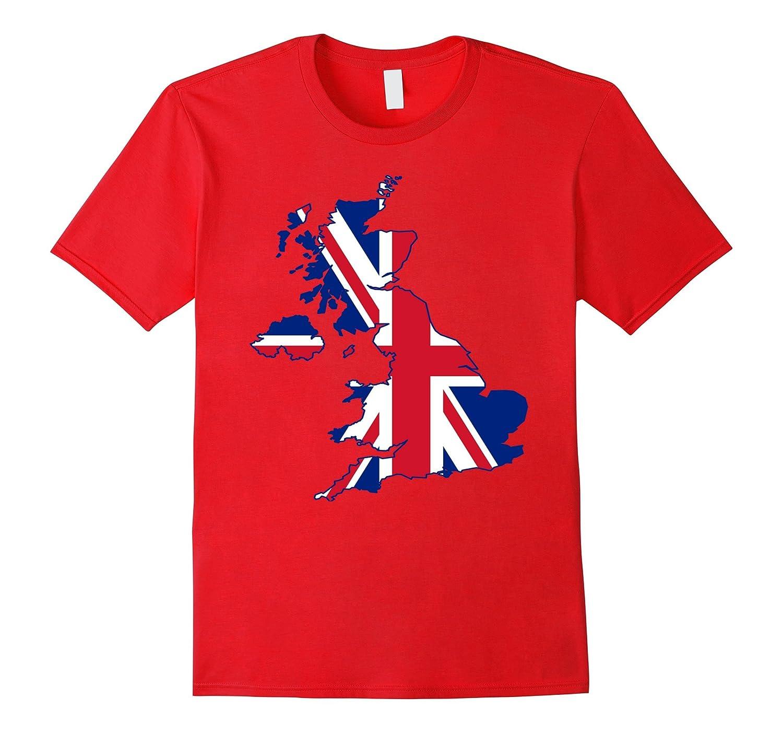 British Isles Union Jack United Kingdom Great Britain TShirt-CD