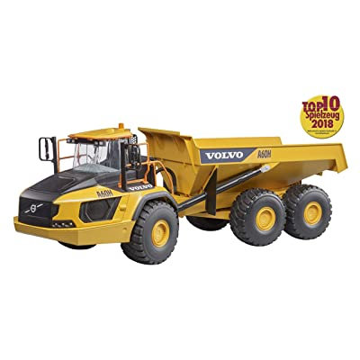 bruder 02455 Volvo A60H Articulated Hauler Vehicles - Toys: Toys & Games