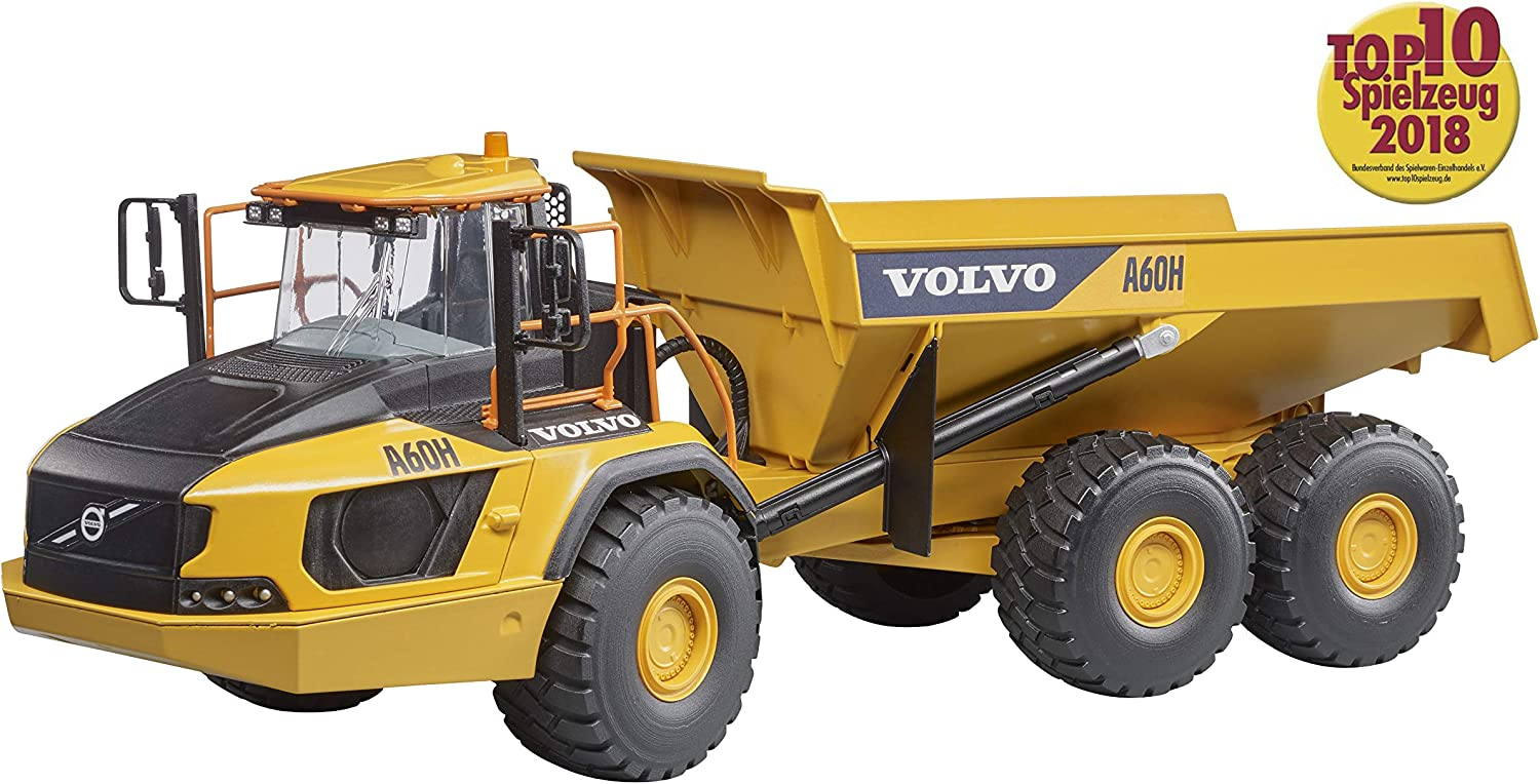 Bruder- Camion Benne A60H Volvo Maquette (2455)