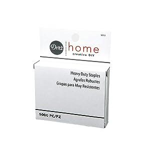Dritz Home 9053 Heavy Duty Staples, 7/16-Inch (1000-Piece)