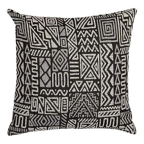 Amazon.com: Ethan Allen - Almohada de tejido abstracto: Home ...