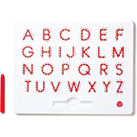 Kid O 10342K Magnatab - A to Z - Upper Case White/Red