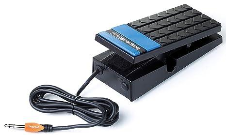 Bespeco VM18L - Pedal para teclado electrónico, color negro