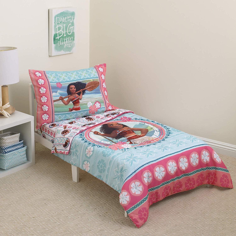 Disney Toddler 4-Piece Bedding Set Moana Island
