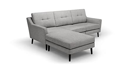 Burrow: The Luxury Couch For Real People. Crushed Gravel (Light Gray) Three