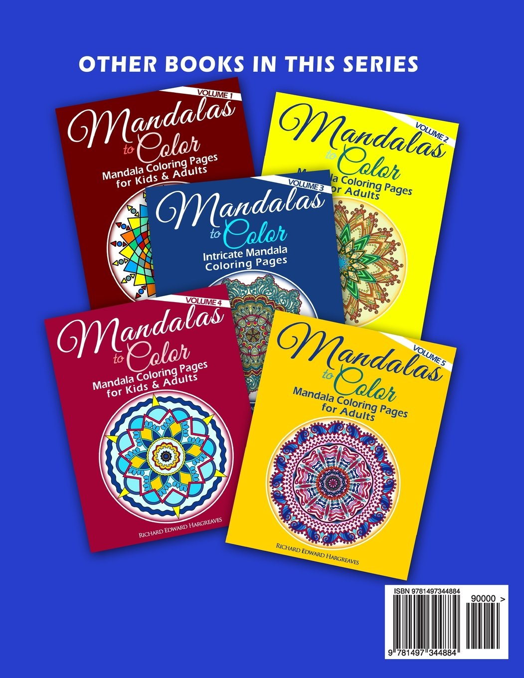 Mandala coloring pages amazon - Amazon Com Mandalas To Color Intricate Mandala Coloring Pages Advanced Designs Mandala Coloring Books Volume 6 9781497344884 Richard Edward