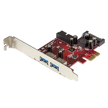 StarTech.com 4 Port PCI Express USB 3.0 Card - 2 External & 2 Internal - SATA Power - UASP Support - 2x Int Motherboard-Style Headers (PEXUSB3S2EI)