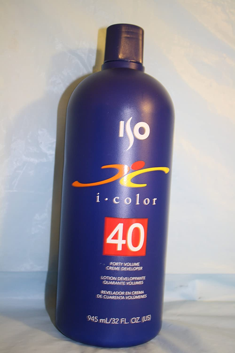 Iso I Color 40 Volume Creme Developer - 32 oz Iso Hair