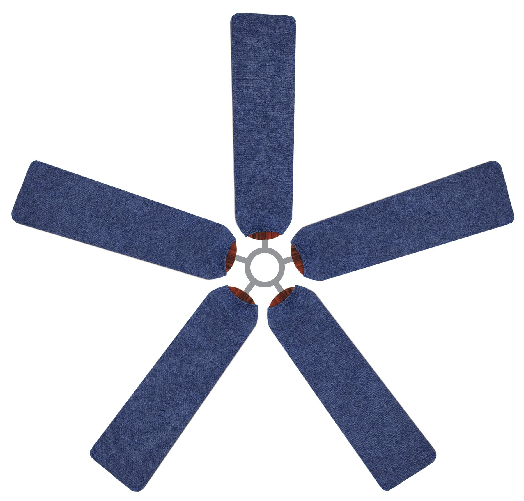 Fan Blade Designs Denim Ceiling Fan Blade Covers