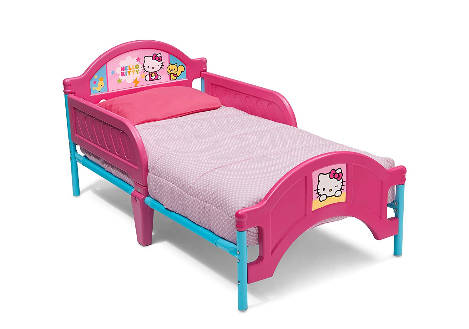Hello Kitty Toddler Bed.Delta Children Plasitc Toddler Bed Hello Kitty By Delta