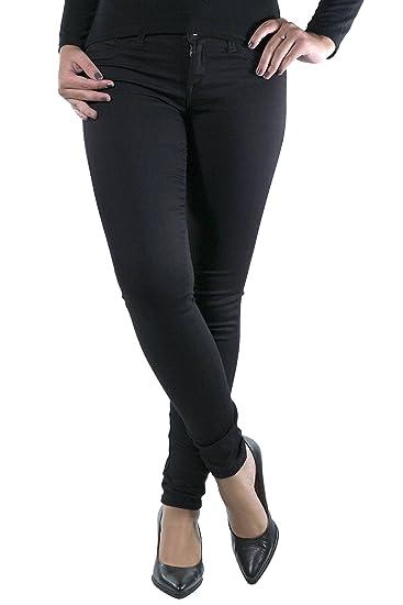 58a368face Tiffosi Women's 10007819 Skinny Jeans, (Black Regular), One Size:  Amazon.co.uk: Clothing