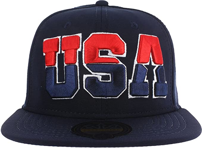 USA SNAPBACK - NAVY at Amazon Men s Clothing store  8056a01f1a0