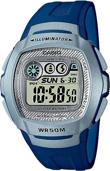Montre Mixte Casio Collection LW 24HB 2AVES Bleu à 15,10