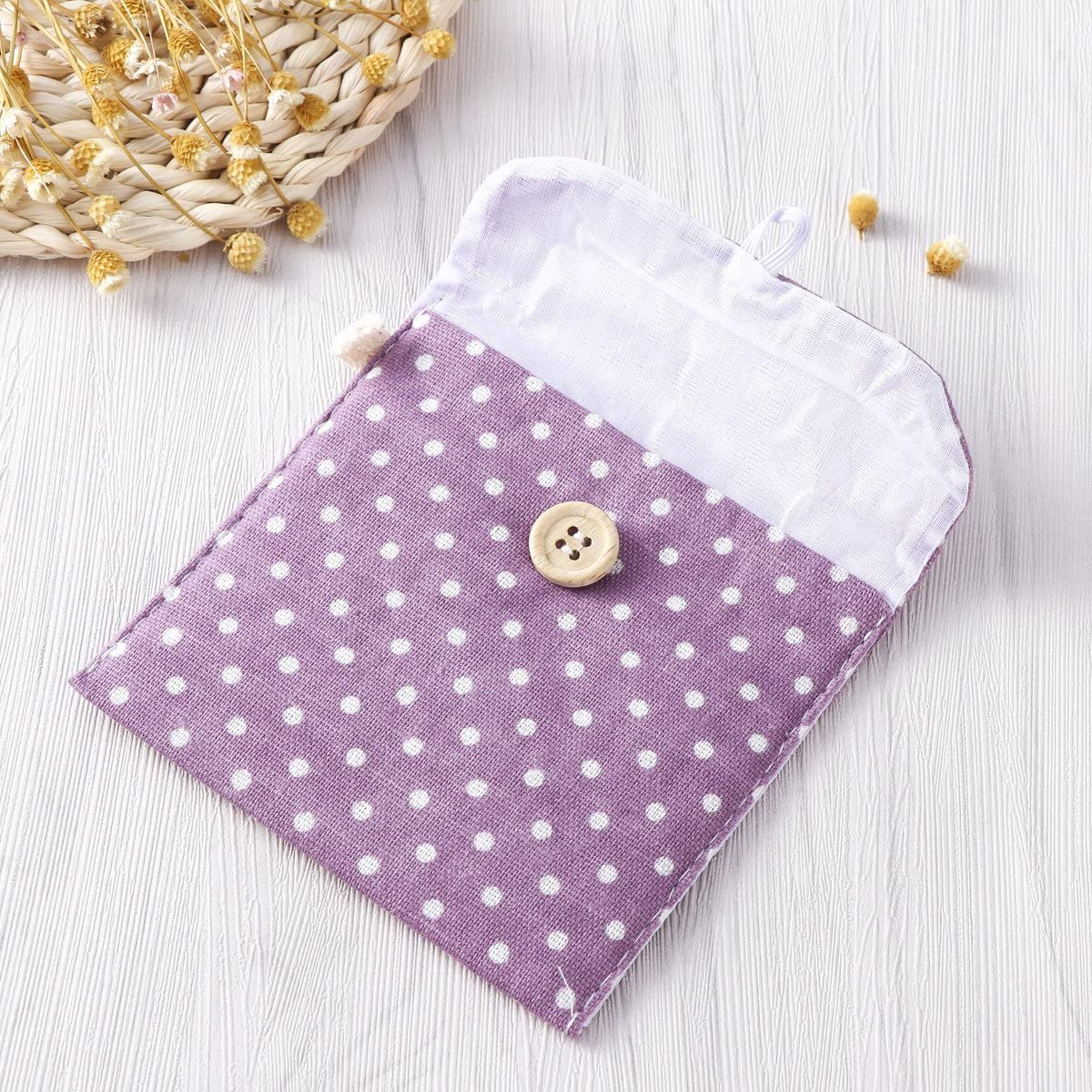 Purple Ounona Ladies Organiser Menstrual Canvas Holdall Bag for Women Girls