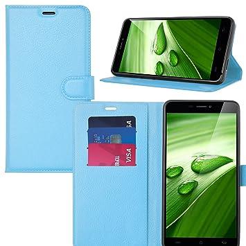Ulefone Power 2 Funda, KuGi Slim Flip Cover Carcasa Billetera ...