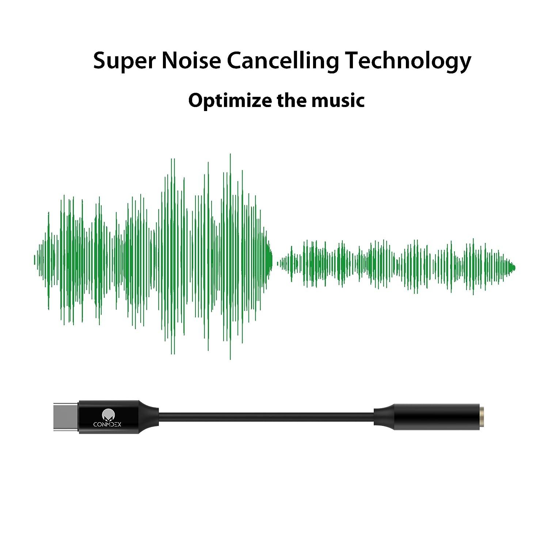 CONMDEX USB C to 3 5mm Audio Adapter Type C to AUX Realtek