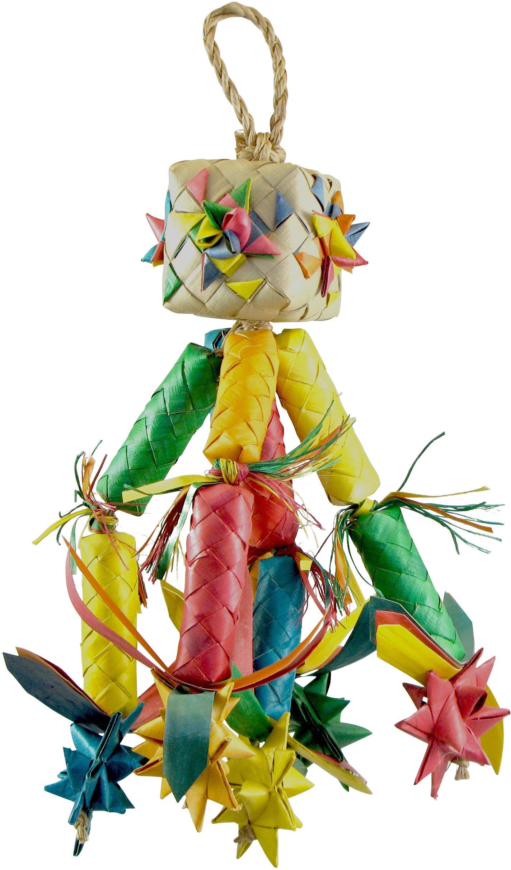 Planet Pleasures Firecracker Pinata Bird Toy, Medium
