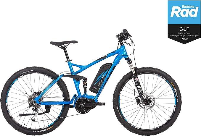 Fischer E-Bike Montaña EM 1862, azul, 27.5