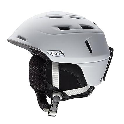 1cb5a439b8e7e Smith Optics Camber Asian Fit Adult Ski Snowmobile Helmet - Matte  White Medium