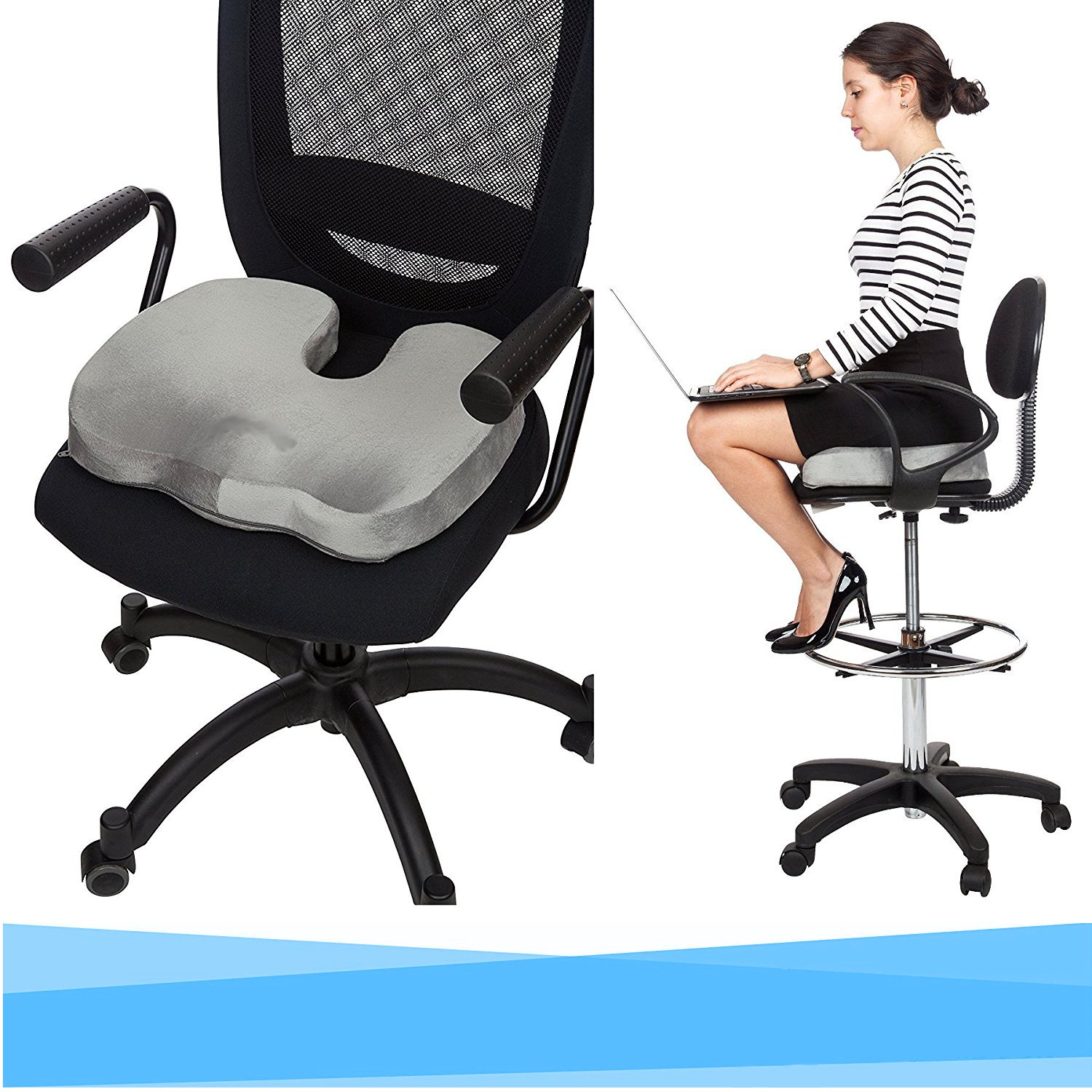 Orthopedic Coccyx Seat Support Cushion
