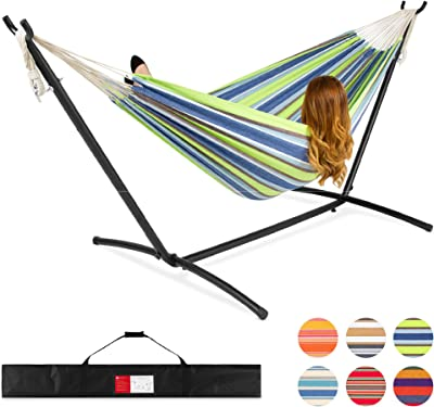 Best Choice Products 2-Person Brazilian-Style Cotton Double Hammock Bed