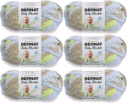6//Pk Sunshine 6 Pack Bernat 97620 Baby Blanket-6//Pk-Sunshine