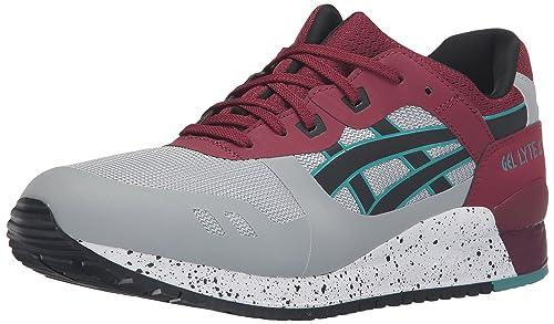 wholesale dealer 561c0 83b26 ASICS Men s Gel-Lyte III NS Fashion Sneaker, Light Grey Black, 8.5