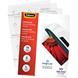 Fellowes Thermal Laminating Pouches, ImageLast, Jam Free, Letter Size, 5 Mil, 150 Pack (5204007)