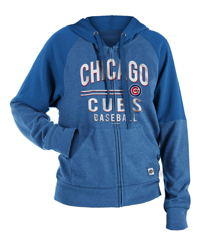 innovative design 83ac2 50a49 Amazon.com : New Era Chicago Cubs Women's Tri-Blend Fleece ...