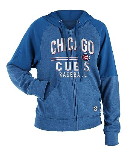 innovative design a7980 44fcf Amazon.com : New Era Chicago Cubs Women's Tri-Blend Fleece ...