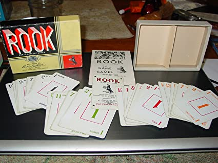 Amazon Com Vintage Rook Card Game Two Compartment Box George S Parker Toys Games,Virginia Creeper Plants With Red Berries That Look Like Ginseng