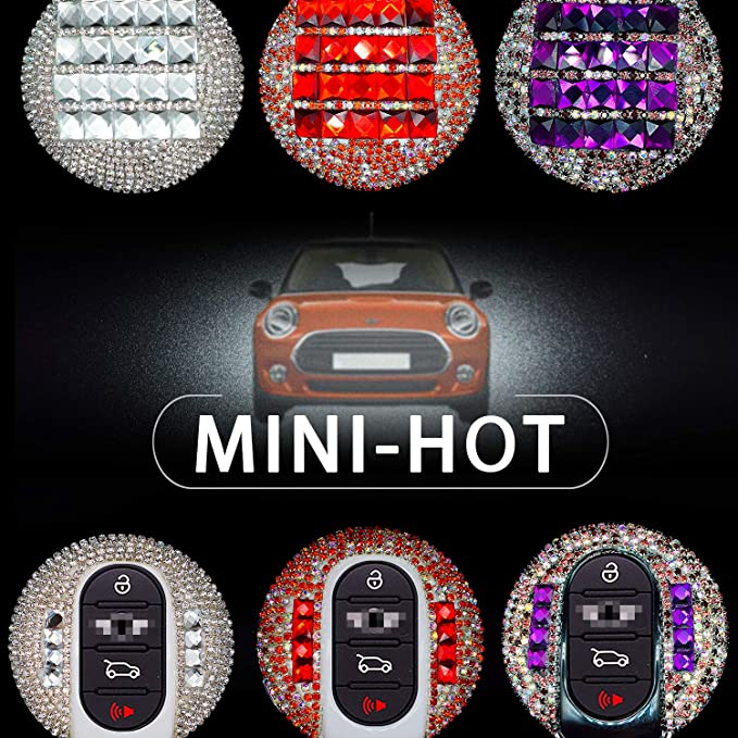 Amazon.com: PGONE - Carcasa para llave de coche Mini Cooper ...