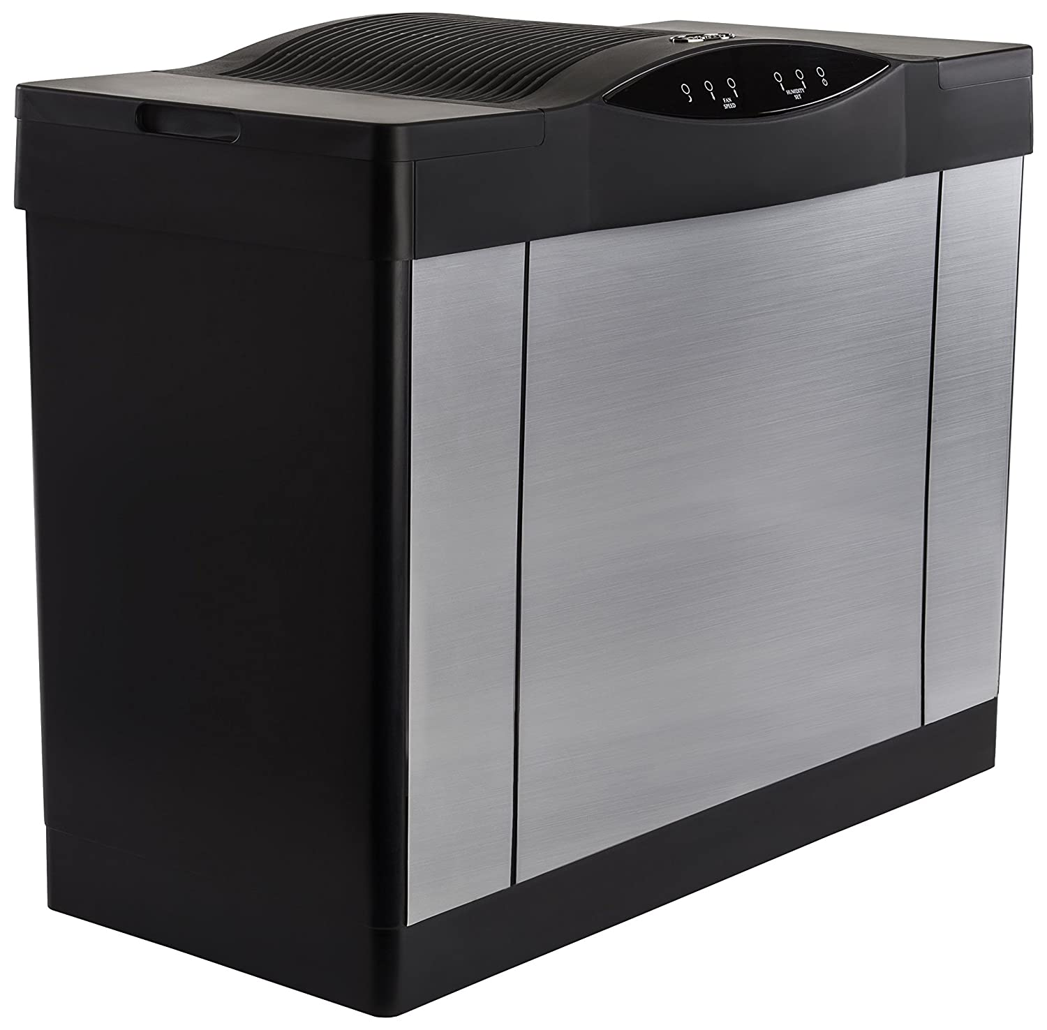 AIRCARE 4DTS 900 Whole House Console Evaporative Humidifier for 3600 sq. ft, Brushed Nickel