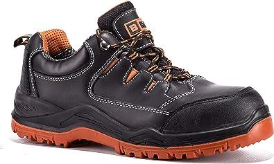 Black Hammer Composite Toe Shoes Men