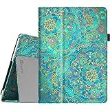 Fintie Funda para BEISTA K107 Tablet de 10.1 Pulgadas / YUNTAB K107 Tablet 10.1 - Slim Fit Folio Funda Carcasa Case con Stand Función para BEISTA Tablet de 10.1 Pulgadas, YUNTAB K107 Tablet 10.1, Artizlee ATL-21plus / ATL-21T / ATL-21X / ATL-31, ibowin P130 / M130 10.1 inch, Lnmbbs 3G/WIFI Tablet 10, XIDO Z120, Excelvan K107 10.1 Inch, Sky Castle 10.1, Shades of Blue