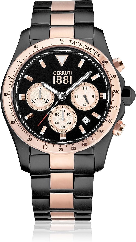 Cerruti 1881 Reloj de Cuarzo Man CRA083D221G 41.0 mm