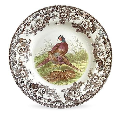 Spode Woodland Pheasant Dinner Plate  sc 1 st  Amazon.com & Amazon.com: Spode Woodland Pheasant Dinner Plate: Kitchen u0026 Dining
