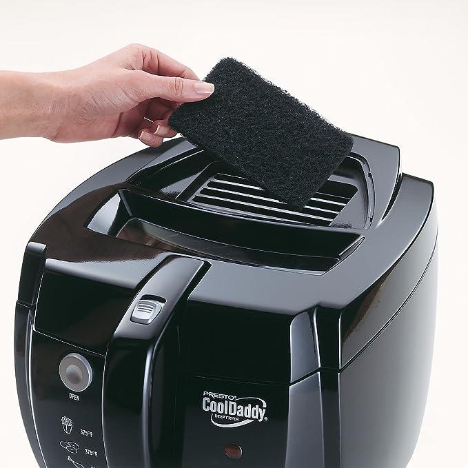 Amazon.com: Freidora Presto CoolDaddy Cool-touch Deep, talla ...