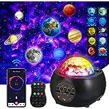 Projetor de luz XUELILI com projetor planeta ajustável com 32 modos,projetor de galaxia, projetor de estrelas, Ocean Wave Pro