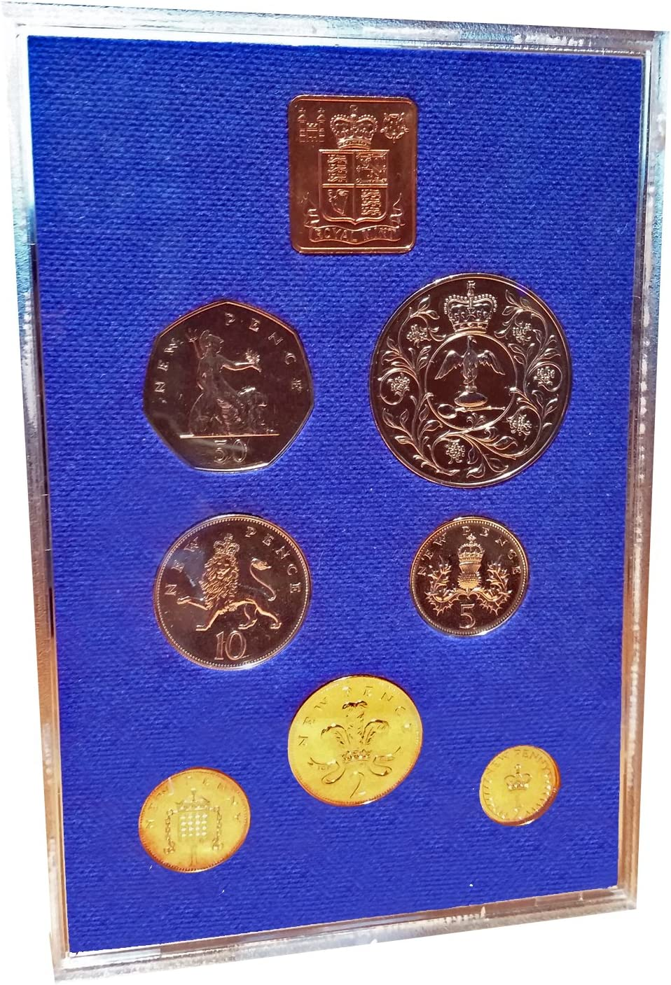 Proof Great Britain 1971 5 New Pence~Upgrade To Proof Coins~Free Shipping