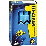 HI-LITER Desk Style, Blue, Box of 12 (24016)