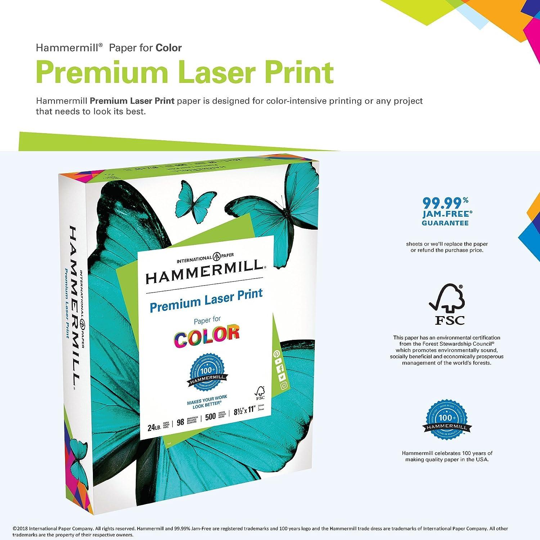 Hammermill Paper 32Lb P Letter Size Premium Laser Print Paper 8.5 X 11 Paper