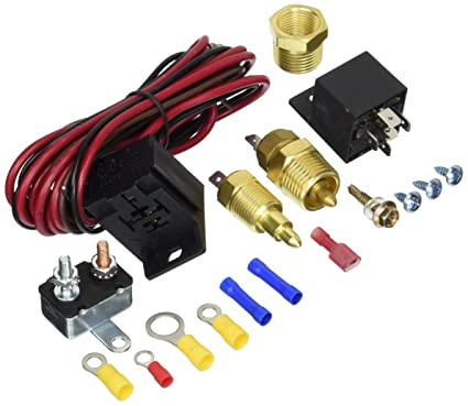 Super Amazon Com Fan Thermostat Temperature Switch Engine Cooling Sensor Wiring 101 Carnhateforg