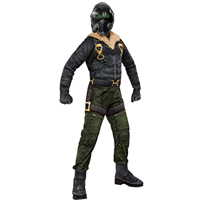 Rubie's Costume Spider-Man Homecoming Child's Deluxe Vulture Costume, Multicolor, Medium: Clothing
