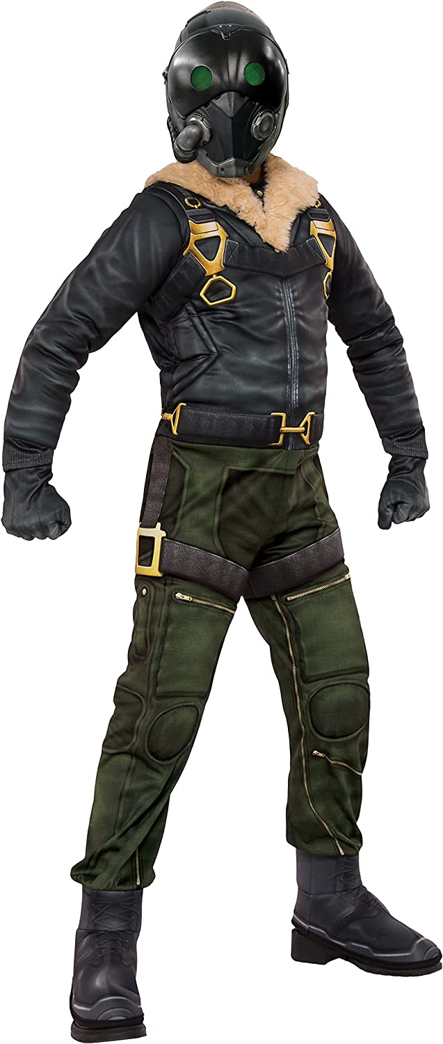 Rubie's Costume Spider-Man Homecoming Child's Deluxe Vulture Costume, Large, Multicolor (630732_L)