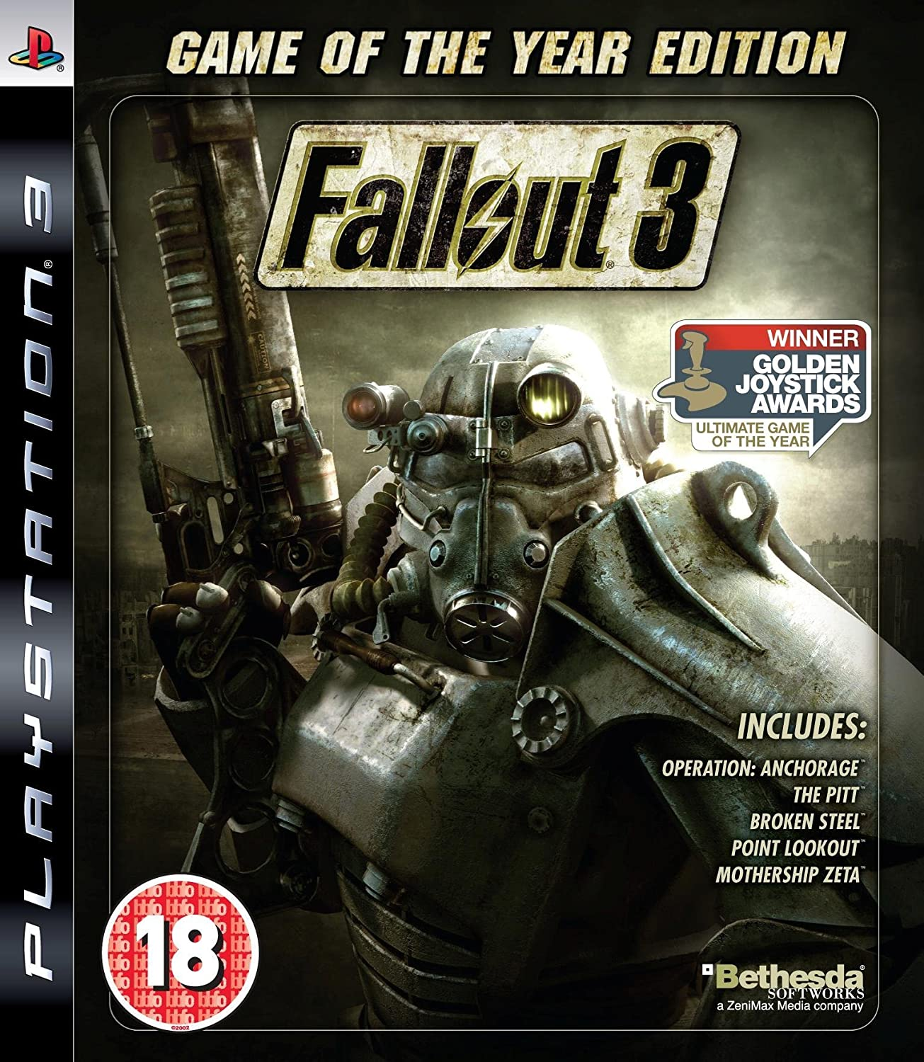 Fallout 3 - Game Of The Year Edition (PS3): Amazon co uk: PC & Video