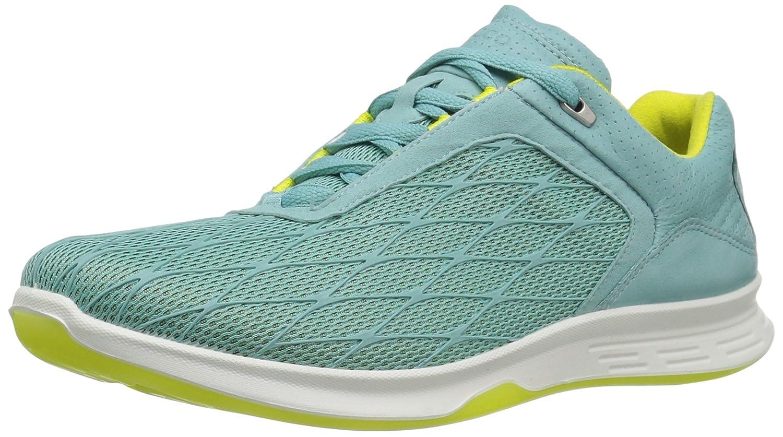 ECCO Women's Exceed Sport Fashion Sneaker B01EM6YPRQ 39 EU/8-8.5 M US|Aquatic/Aquatic/Sulphur