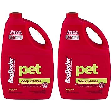 Rug Doctor Limpiador profundo para mascotas, solución de limpieza de alfombras para alfombras Doctor Rentals, ...